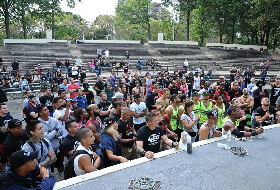 Street Workout World Cup Stage New York 2015