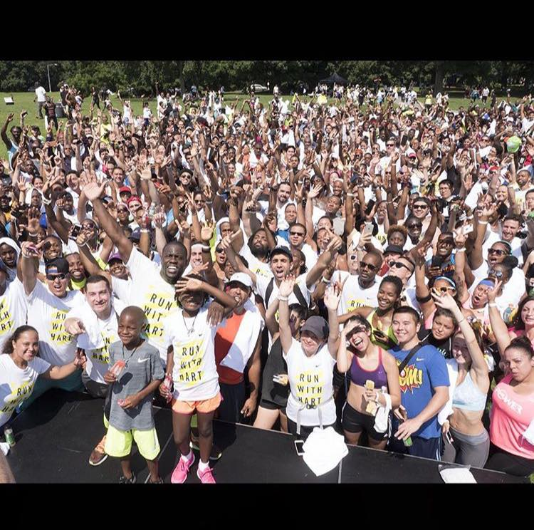 Kevin Hart 5k Run New York