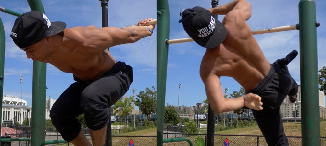 Explode Out Of Back lever